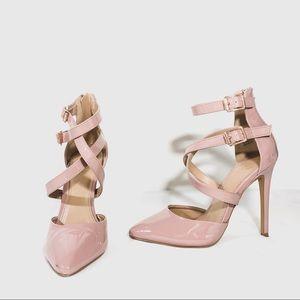 Charlotte Russe - pastel pink heels